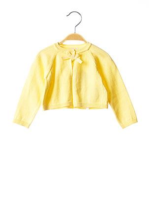 Gilet manches longues jaune CHICCO pour fille