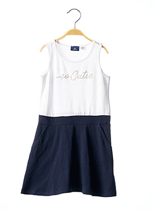 Robe mi-longue bleu CHICCO pour fille