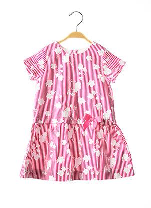 Robe mi-longue rose CHICCO pour fille