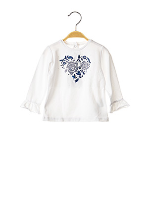 Poncho blanc CHICCO pour fille