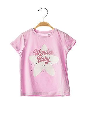 T-shirt manches courtes violet CHICCO pour fille