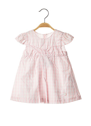 Robe courte rose CHICCO pour fille