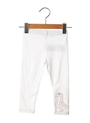 Legging blanc CHICCO pour fille