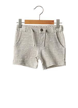 Short gris CHICCO pour garçon