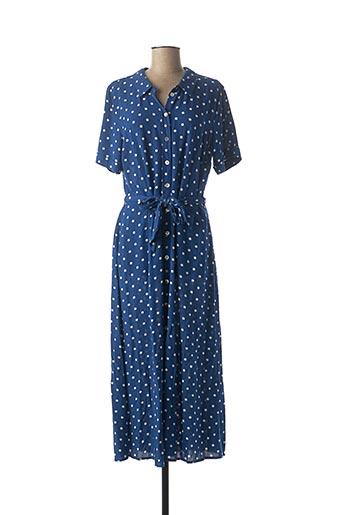 Robe longue bleu KING LOUIE pour femme