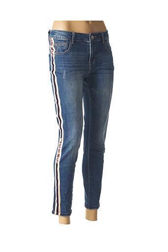 Jeans coupe slim bleu DENIM pour femme