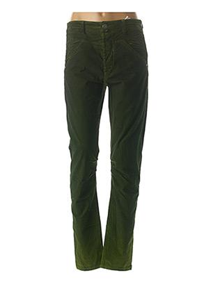 Pantalon casual vert HIGH pour femme
