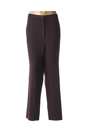 Pantalon casual violet GEVANA pour femme