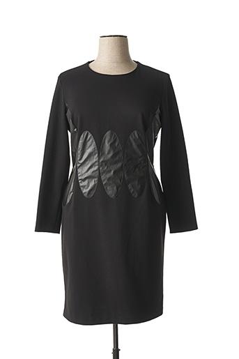 Robe mi-longue noir BUGARRI pour femme
