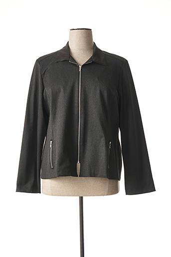 Veste casual noir GEVANA pour femme