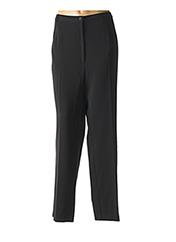 Pantalon casual noir GEVANA pour femme seconde vue