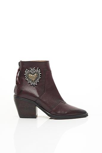 Bottines/Boots violet LITTLE ...LA SUITE pour femme