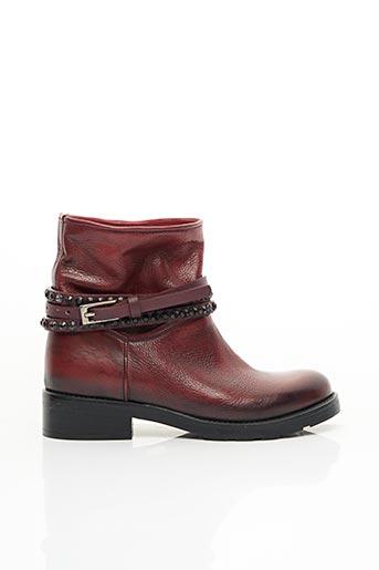 Bottines/Boots rouge NICHE pour femme