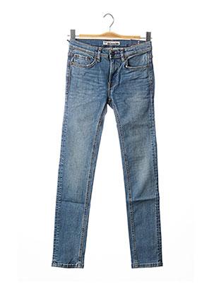 Jeans skinny bleu TEDDY SMITH pour enfant