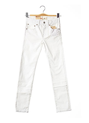 Jeans skinny blanc LEVIS pour fille