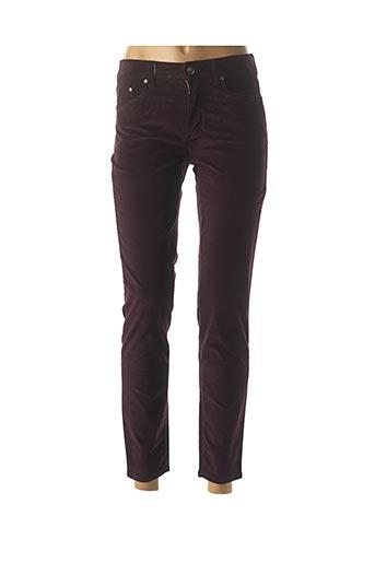 Pantalon casual violet ANNA MONTANA pour femme