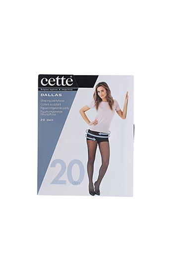 Collants noir CETTE pour femme