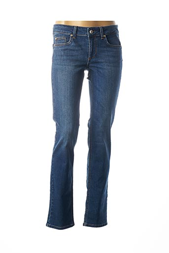 Jeans coupe droite bleu LIU JO pour femme