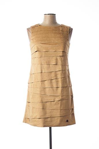 Robe courte marron SPORTALM pour femme