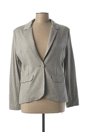Veste casual gris LE PETIT BAIGNEUR pour femme