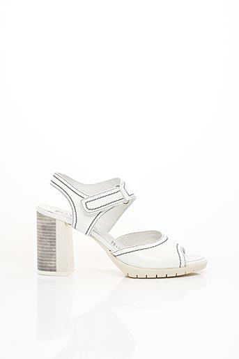 Sandales/Nu pieds blanc J.METAYER pour femme