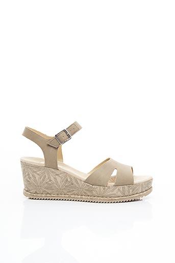 Sandales/Nu pieds vert CLARKS pour femme