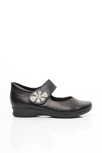 Chaussures de confort noir HIRICA pour femme