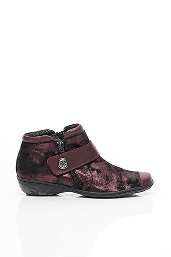 Chaussures de confort rouge GEO-REINO pour femme
