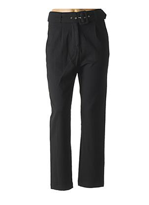 Pantalon chic noir LA PETITE ETOILE pour femme