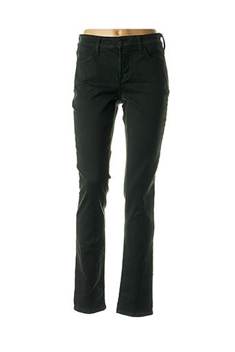 Jeans coupe slim vert NYDJ pour femme