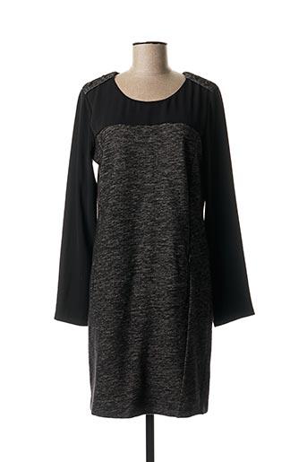 Robe mi-longue gris IKKS pour femme