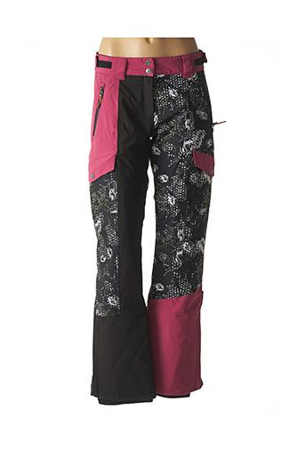 Pantalon casual noir ICEPEAK pour femme