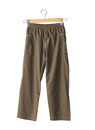 Pantalon casual vert ADIDAS pour enfant