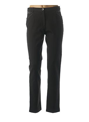 Pantalon casual noir CHRISTINE LAURE pour femme
