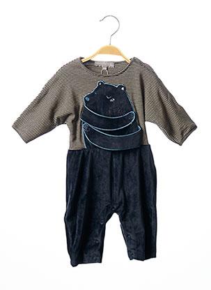 Combi-pantalon bleu MILK ON THE ROCKS pour garçon