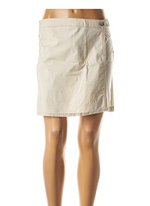 Jupe short beige THALASSA pour femme