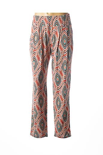 Pantalon casual orange ATLANTA pour femme
