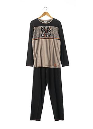 Pyjama noir ROSE POMME pour homme