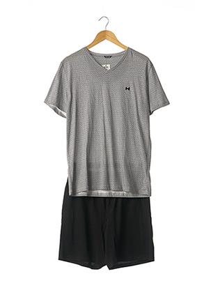 Pyjashort noir HOM pour homme