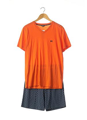 Pyjashort orange HOM pour homme