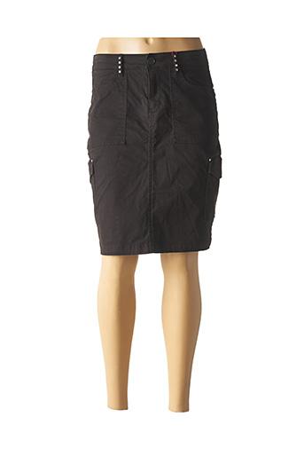 Jupe mi-longue noir S.OLIVER pour femme