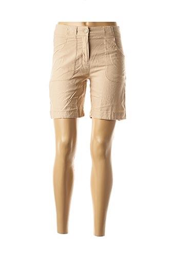 Short beige COLINE pour femme