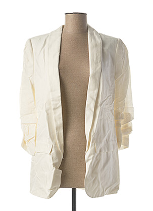Veste chic / Blazer blanc YAYA pour femme