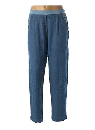 Pantalon chic bleu PAUL BRIAL pour femme