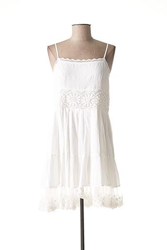Robe mi-longue blanc TWINSET pour femme