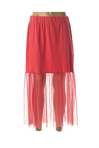 Jupe longue rouge LUUKAA pour femme