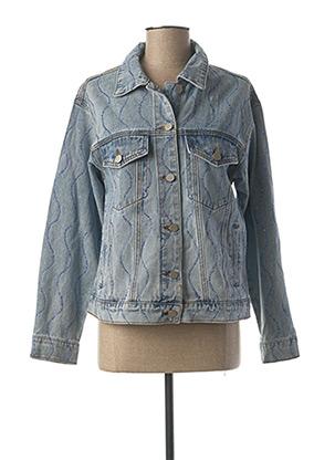 Veste en jean bleu LILI SIDONIO pour femme