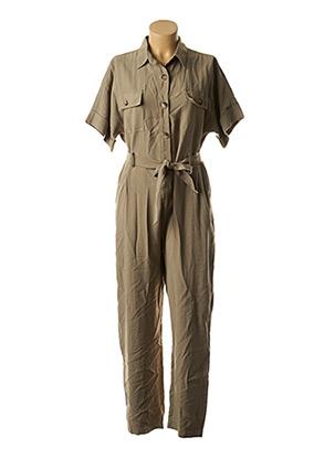 Combi-pantalon vert MOLLY BRACKEN pour femme
