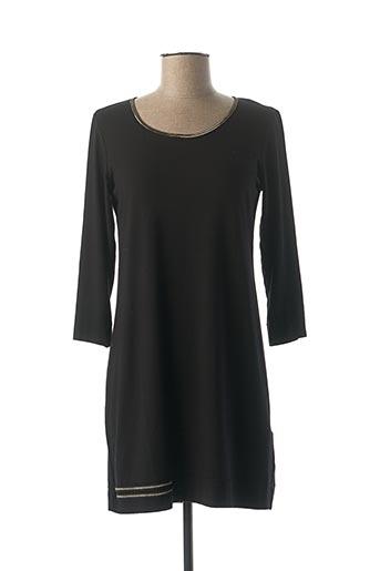 Robe courte noir BEATE HEYMANN pour femme