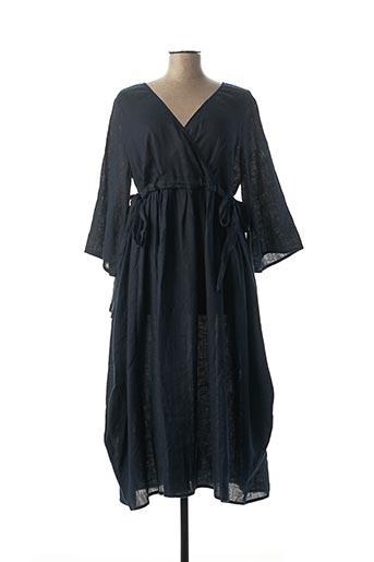 Robe longue bleu KEDZIOREK pour femme